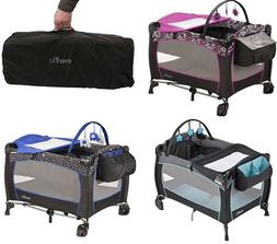 Deluxe Baby Portable Travel Cot Baby Care Safe Play Yard Pla