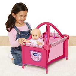 Chicco Deluxe Playard for Baby Dolls,  , Pink