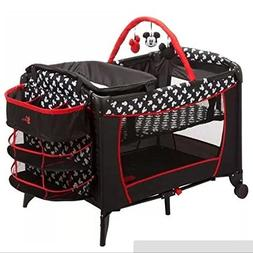 Disney Baby Mickey Mouse Sweet Wonder Play Yard, Mickey Silh