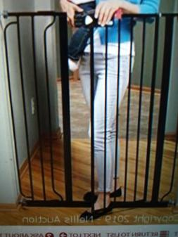 REGALO EASY STEP EXTRA TALL WALK THRU BABY GATE WITH EXTENSI