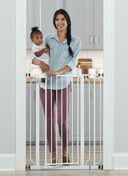 Regalo Easy Step Extra Tall Walk Thru Baby Gate, Includes 4-