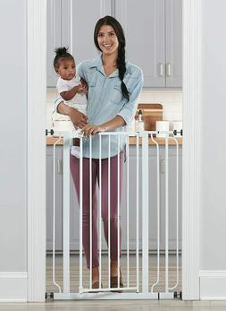 Regalo Easy Step Extra Tall Walk Thru Baby Gate - TOUCHLESS