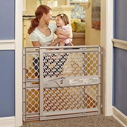 """North States 42"""" Wide Supergate Ergo Baby Gate: Easy-fit and"""