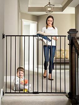 Regalo Extra Tall 2-in-1 Stairway and Hallway Walk Through G
