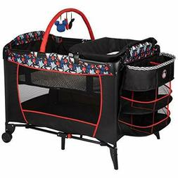 FACTORY NEW Disney Sweet Wonder Play Yard Mickey Silhouette
