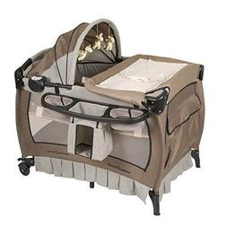 Baby Trend Deluxe Nursery Center, Haven Wood Crib Play yard