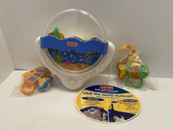 Fisher Price Crib Ocean Aquarium Play Yard Soother baby Inte