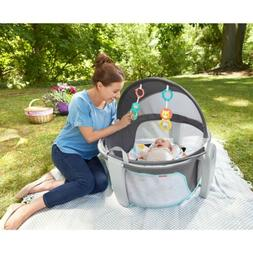 Fisher-Price On-the-Go Baby Dome, Windmill Edition play yard