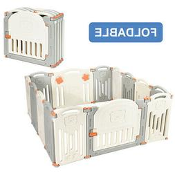 Home Foldable Baby Playpen 14 Panel Activity Center Safety P