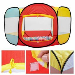 Foldable Playpen Baby Play Yard Tent Indoor Outdoor Safety T