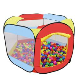 Folding Portable Playpen Baby Play Yard Tent With Travel Bag