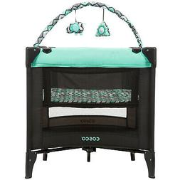 Cosco Funsport Deluxe Play Yard Bassinet Spacious Area Toy A