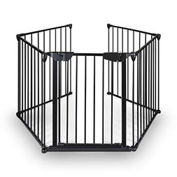 Upgraded Fireplace Safety Fence Baby Gate/Fence BBQ Pet Meta