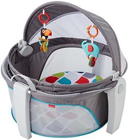 Fisher-Price On-the-Go Baby Dome, Grey/Multi-Color