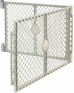 North States Gray Two-Panel Superyard Extension Kit Only Bab