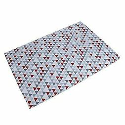 Baby Trend Grey/Red/White Hidden Pyramid Play Yard Sheet