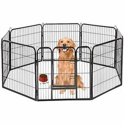 Hammertone Finish 40&quot Heavy Duty Pet Playpen Dog Exercis