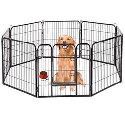 "BestPet Hammertone Finish 40"" Heavy Duty Pet Playpen Dog Exe"