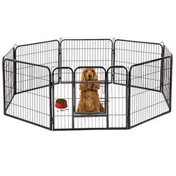 "BestPet Hammertone Finish 32"" Heavy Duty Pet Playpen Dog Exe"