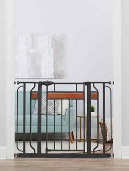 Regalo Home Accents® Extra Wide Walk Thru Baby Gate, Includ