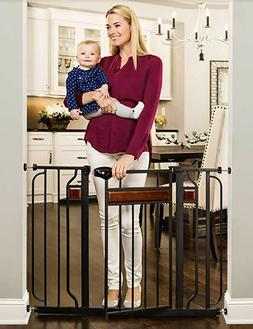 Regalo Home Accents Extra Wide Walk Thru Baby Gate, Includes