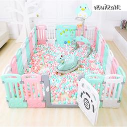 Indoor Baby Playpen <font><b>Plastic</b></font> Children's <