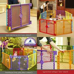 North States Industries Superyard Play Yard Colorplay 8 Coun