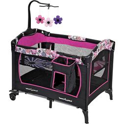 Infant Baby Portable Bassinet Sleeper Playpen Combo Foldable