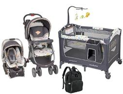 Infant Grow Bundle of Stroller with Car Seat Play Yard & Bag