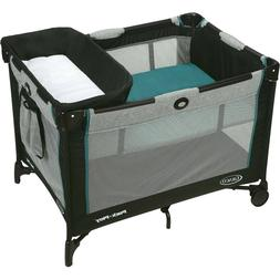 infant/toddler Pack 'n Play Simple Solutions Playard with Ba