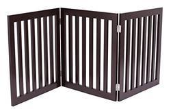 Internets Best Traditional Pet Gate | 3 Panel | 24 Inch Step