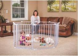 Kids Fence Child Safety Wide Gate Play Yard For Baby Toddler