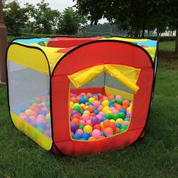 Kids Play House Indoor Outdoor Easy Folding Ball Pit Hideawa