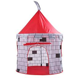 Euone  Knight Castle Play Tent  , Folding Children Kids Play