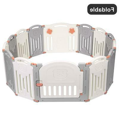 14 Panel Baby Kids Play Indoor Outdoor New