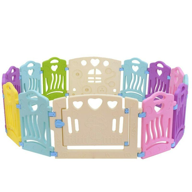 14 Baby Playpen Kids Play Yard Fence Shape