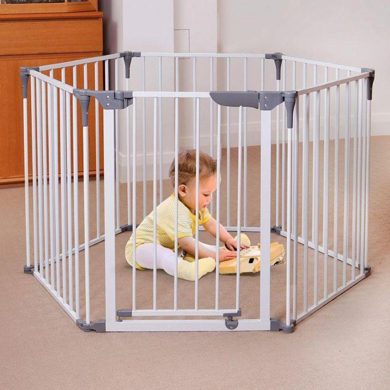 29 In. Converta Play-Yard And Wide Barrier Gate