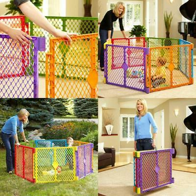 Yard Playpen Pet Gate Indoor Play Area Corral Para