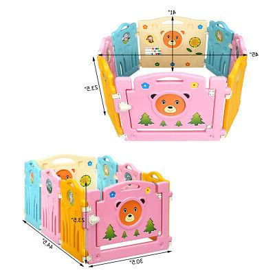 8 Baby Activity Center Safety Play Home