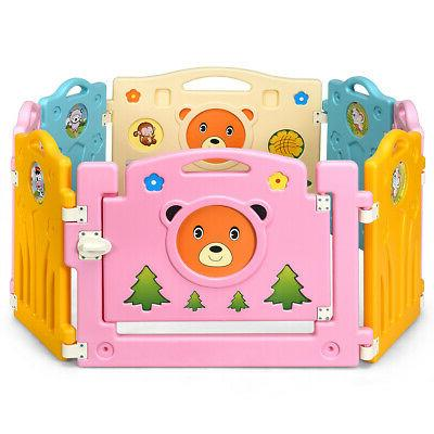Baby Activity Play Yard Home