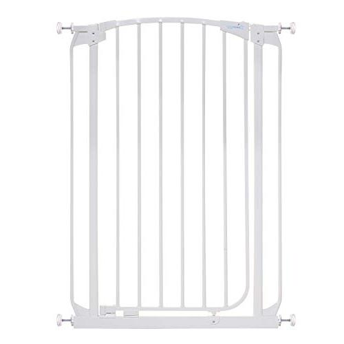 Dreambaby Chelsea Extra Tall Auto Close Security Gate in Whi