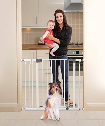 Dreambaby Liberty Auto Close Stay Open Security Gate with Ex