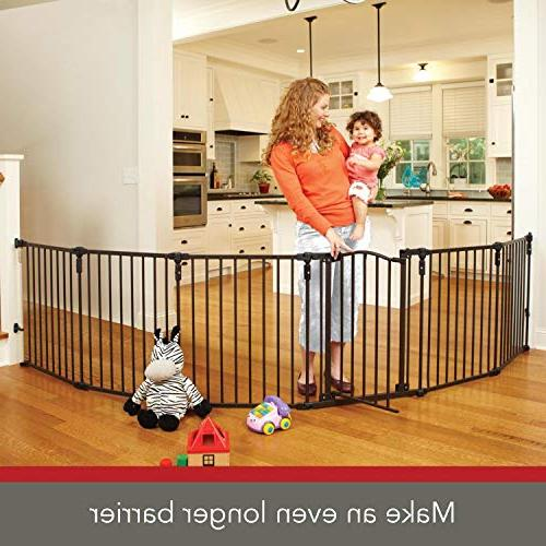 North for Metal to extra-wide or play yard