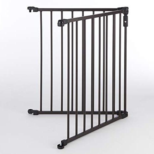 """North for Arched Metal Superyard: to 48"""" extra-wide play yard"""