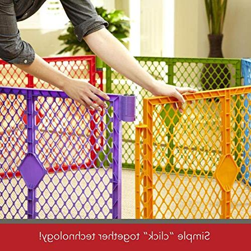 North Colorplay 8-Panel Safe play strap for easy sq. ft.