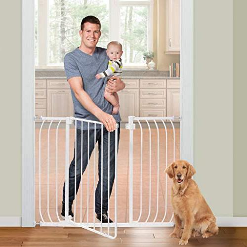 Summer Infant Multi-Use Tall Walk-Thru Gate, White