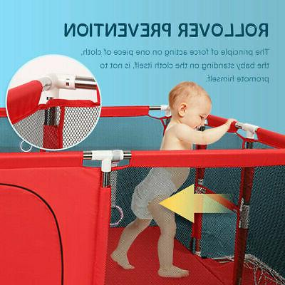 Baby Safety Play Kid Activity Playpen Toddler Folding