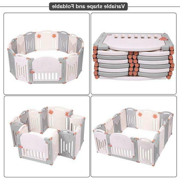 US Folding Centre Yard Kids Outdoor fence