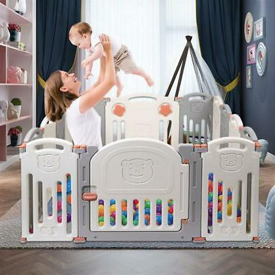 baby playpen kids 14 pieces panel safety