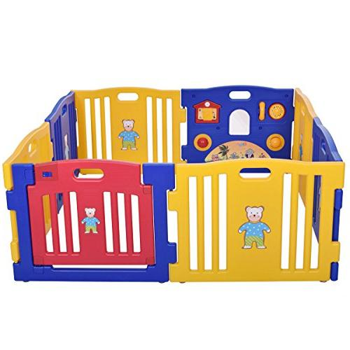 8 Safety Play Center Yard Outdoor New